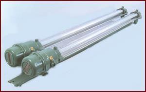 Flameproof Fluorescent Tube Light