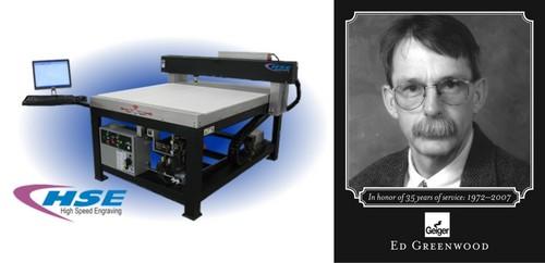 Monument Laser Etching Machine