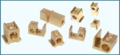 Brass HRC Contact Block