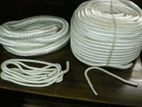 Double Braided White Ropes
