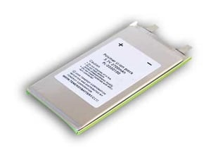 Rectangular Battery with Soft Pack