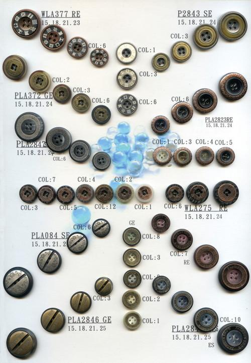 Trendy Design Laser Button