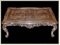 Carved Wooden Centre Table