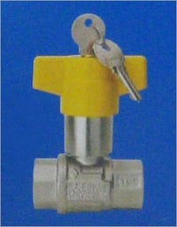 FULL BORE BALL VALVE WITH SECURITY LOCK