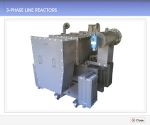 Three Phase Electronic Line Reactor