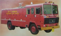 FIRE TENDERING VEHICLE