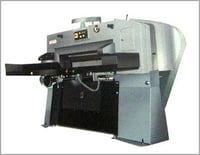 HIGH SPEED PAPER GUILLOTINE WITH ELECTRO MAGNETIC CLUTCH MACHINE