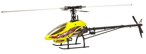 Black and Yellow Remote Control Helicopter