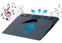 USB Laptop Cooling Pad with 2.0 Stereo Speaker