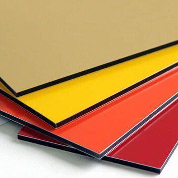 Coloured Aluminium Composite Panel