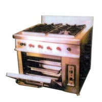 Continantal Gas Range With Oven