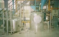 Continuous Bleaching and Deodorizing Plant