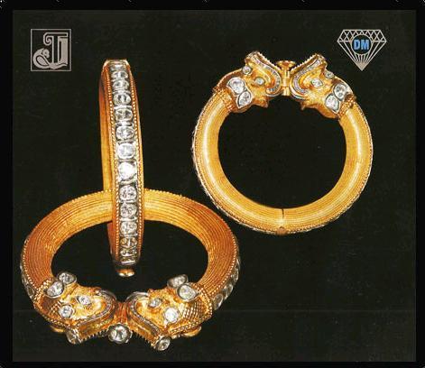 Diamond Studded Finger Rings Good