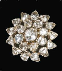 Flower Design Diamond Earring Very Good
