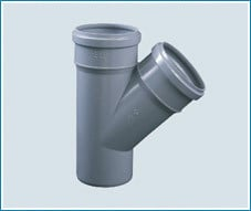 Single Y Pipe Fitting