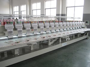 Automatic Cutting Thread Embroidery Machine