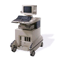 Safe To Use Coloured Doppler Ultrasound Machine