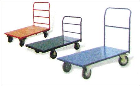 Chequered Platform Trolley