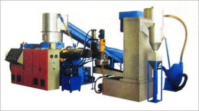FULLY AUTOMATIC RECYCLING & GRANULATING SYSTEM