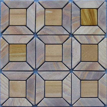 Sandstone Mosaic Cut To Size