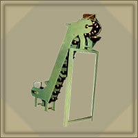 Industrial Material Handling Inclined Elevator