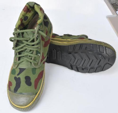 Canvas Hot Cure Rubber Shoes