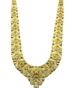 Ladies Traditional Design Gold Necklace