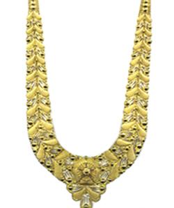 Ladies Traditional Design Gold Necklace Gender: Women'S
