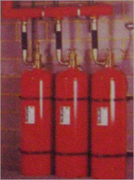 Clean Agent Based Fire Suppression System