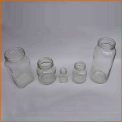 Clear Honey Bottle