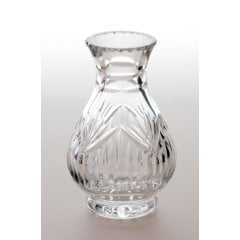 Colourless Fine Cutting Glass Vase