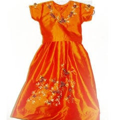 Girls Embroidered Frocks