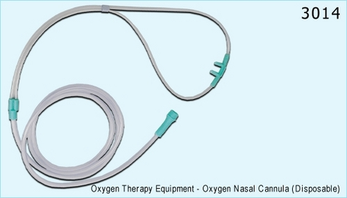 Oxygen Nasal Cannula (Disposable)