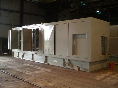 Acoustic Enclosure For Gas Turbine