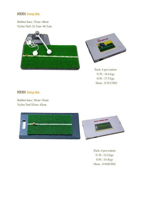 Artificial Turf for Golf Swing
