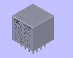 Miniature Hermetically Sealed Relay