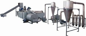 PP/PE Film Crushing and Washing Recycling Line