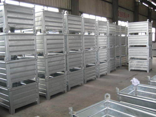 Corrugated Steel Container