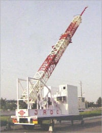 High Performance Telescopic Tower