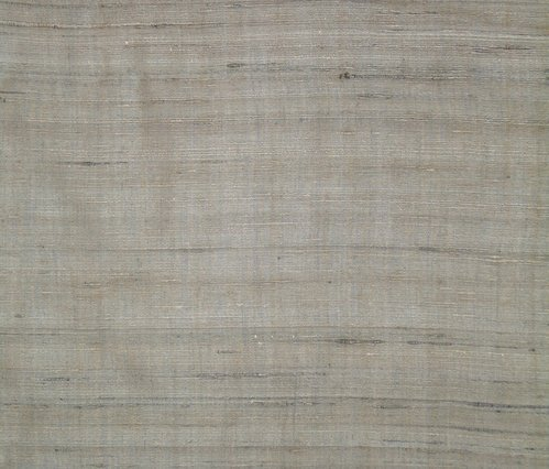 Tassar Natural And Silk Mixed Fabric