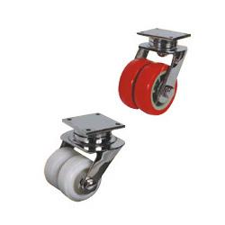 UHMW (HDPE) & Polyurethane Twin Wheel