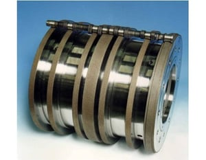 CBN GRINDING WHEELS IN ELECTROPLATED BOND