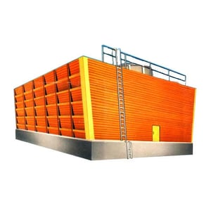 Induced Draft Wooden Cooling Tower
