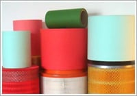 Multicolored Oil Filter Papers