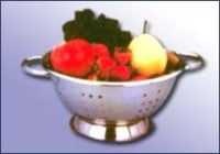 Stainless Steel Fruit Vegetable Deep Colander