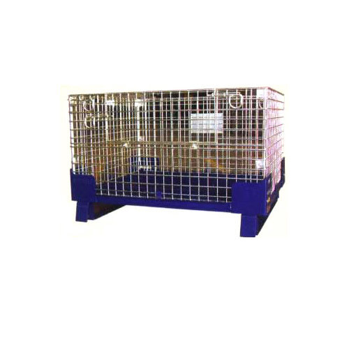 Collapsible Wire Mesh Pallet