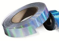 Flexible Holographic Tape Roll