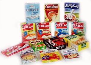Food Packaging Folded Paper Cartons