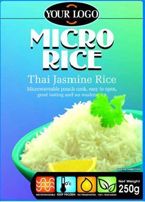 Common White Thai Jasmine Rice