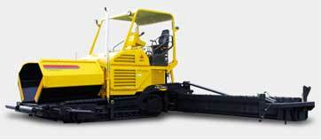 Automatic Heavy Duty Asphalt Paver Machine